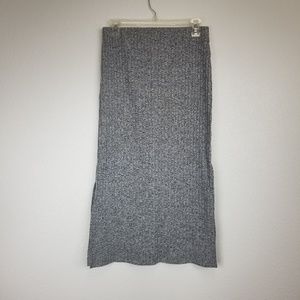 Topshop womens pencil cut skirt size 8 gray nwt